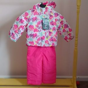 NWT Children's Place 3-in-1 toddler snowsuit